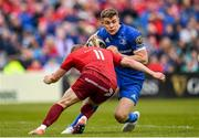 18 May 2019; Garry Ringrose of Leinster in action against Keith Earls of Munster during the Guinness PRO14 semi-final match between Leinster and Munster at the RDS Arena in Dublin. Photo by Harry Murphy/Sportsfile