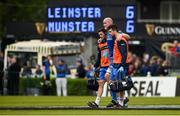 18 May 2019; Devin Toner of Leinster leaves the field after picking up an injury during the Guinness PRO14 semi-final match between Leinster and Munster at the RDS Arena in Dublin. Photo by Diarmuid Greene/Sportsfile