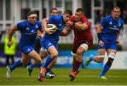 18 May 2019; Jordan Larmour of Leinster  is tackled by CJ Stander of Munster during the Guinness PRO14 semi-final match between Leinster and Munster at the RDS Arena in Dublin. Photo by Harry Murphy/Sportsfile