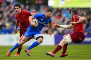 18 May 2019; Robbie Henshaw of Leinster during the Guinness PRO14 semi-final match between Leinster and Munster at the RDS Arena in Dublin. Photo by Ramsey Cardy/Sportsfile
