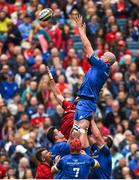 18 May 2019; Devin Toner of Leinster wins possession in a lineout ahead of Jean Kleyn of Munster during the Guinness PRO14 semi-final match between Leinster and Munster at the RDS Arena in Dublin. Photo by Diarmuid Greene/Sportsfile