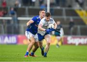 18 May 2019; Karl O'Connell of Monaghan in action against Killian Clarke of Cavan during the Ulster GAA Football Senior Championship quarter-final match between Cavan and Monaghan at Kingspan Breffni in Cavan. Photo by Daire Brennan/Sportsfile