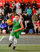 18 May 2019; Aine O'Connor of Liffey Celtics Basketball Club during the second annual Hula Hoops 3x3 Basketball Championships at Bray Seafront in Co.Wicklow. Photo by Ray McManus/Sportsfile