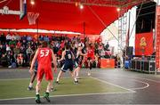 18 May 2019;Puff Summers of Templeogue Basketball Club during the second annual Hula Hoops 3x3 Basketball Championships at Bray Seafront in Co.Wicklow. Photo by Ray McManus/Sportsfile