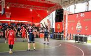 18 May 2019; Daniel Stewart of Ulster University Elks Basketball during the second annual Hula Hoops 3x3 Basketball Championships at Bray Seafront in Co.Wicklow. Photo by Ray McManus/Sportsfile