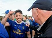 18 May 2019; Conor Moynagh of Cavan celebrates after the Ulster GAA Football Senior Championship quarter-final match between Cavan and Monaghan at Kingspan Breffni in Cavan. Photo by Oliver McVeigh/Sportsfile