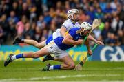 19 May 2019; Patrick Maher of Tipperaryn is tackled by Conor Gleeson of Waterford, which let to a second yellow card for Gleeson, during the Munster GAA Hurling Senior Championship Round 2 match between Tipperary and Waterford at Semple Stadium, Thurles in Tipperary. Photo by Ray McManus/Sportsfile