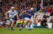 19 May 2019; Patrick Maher of Tipperary in action against Conor Gleeson of Waterford during the Munster GAA Hurling Senior Championship Round 2 match between Tipperary and Waterford at Semple Stadium, Thurles in Tipperary. Photo by Ray McManus/Sportsfile