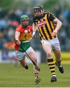19 May 2019; Walter Walsh of Kilkenny in action against David English of Carlow during the Leinster GAA Hurling Senior Championship Round 2 match between Carlow and Kilkenny at Netwatch Cullen Park in Carlow. Photo by Ben McShane/Sportsfile