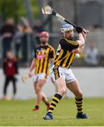 19 May 2019; TJ Reid of Kilkenny shoots to score his side's third goal, from a penalty, during the Leinster GAA Hurling Senior Championship Round 2 match between Carlow and Kilkenny at Netwatch Cullen Park in Carlow. Photo by Ben McShane/Sportsfile
