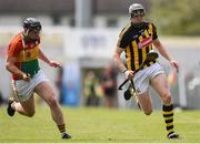 19 May 2019; Walter Walsh of Kilkenny in action against John Nolan of Carlow during the Leinster GAA Hurling Senior Championship Round 2 match between Carlow and Kilkenny at Netwatch Cullen Park in Carlow. Photo by Ben McShane/Sportsfile