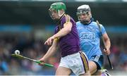 19 May 2019; Aidan Nolan of Wexford in action against Cian Boland of Dublin during the Leinster GAA Hurling Senior Championship Round 2 match between Dublin and Wexford at Parnell Park in Dublin. Photo by Daire Brennan/Sportsfile