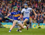 19 May 2019; Robert Byrne of Tipperary in action against Colin Dunford of Waterford  during the Munster GAA Hurling Senior Championship Round 2 match between Tipperary and Waterford at Semple Stadium, Thurles in Tipperary. Photo by Ray McManus/Sportsfile