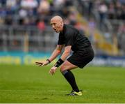 19 May 2019; Referee John Keenan during the Munster GAA Hurling Senior Championship Round 2 match between Tipperary and Waterford at Semple Stadium, Thurles in Tipperary. Photo by Ray McManus/Sportsfile