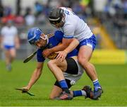 19 May 2019; John McGrath of Tipperary in action against Noel Connors of Waterford  during the Munster GAA Hurling Senior Championship Round 2 match between Tipperary and Waterford at Semple Stadium, Thurles in Tipperary. Photo by Ray McManus/Sportsfile
