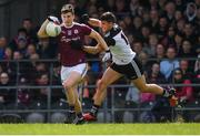19 May 2019; Johnny Heaney of Galway in action against Niall Murphy of Sligo during the Connacht GAA Football Senior Championship semi-final match between Sligo and Galway at Markievicz Park in Sligo. Photo by Harry Murphy/Sportsfile