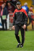 19 May 2019; Down manager Paddy Tally during the GAA Football Senior Championship quarter-final match between Down and Armagh at Pairc Esler in Newry. Photo by Philip Fitzpatrick/Sportsfile