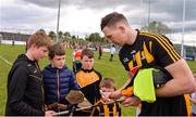 19 May 2019; Walter Walsh of Kilkenny signs autographs for supporters following the Leinster GAA Hurling Senior Championship Round 2 match between Carlow and Kilkenny at Netwatch Cullen Park in Carlow. Photo by Ben McShane/Sportsfile