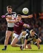 19 May 2019; Shane Walsh of Galway is fouled by Mikey Gordon of Sligo during the Connacht GAA Football Senior Championship semi-final match between Sligo and Galway at Markievicz Park in Sligo. Photo by Harry Murphy/Sportsfile
