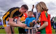 19 May 2019; Liam Blanchfield of Kilkenny signs autographs for supporters following the Leinster GAA Hurling Senior Championship Round 2 match between Carlow and Kilkenny at Netwatch Cullen Park in Carlow. Photo by Ben McShane/Sportsfile