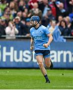 19 May 2019; Paul Ryan of Dublin celebrates his side's late goal during the Leinster GAA Hurling Senior Championship Round 2 match between Dublin and Wexford at Parnell Park in Dublin. Photo by Daire Brennan/Sportsfile