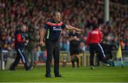 19 May 2019; Cork manager John Meyler prior to the Munster GAA Hurling Senior Championship Round 2 match between Limerick and Cork at the LIT Gaelic Grounds in Limerick. Photo by Diarmuid Greene/Sportsfile