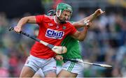 19 May 2019; Eoin Cadogan of Cork in action against Barry Murphy of Limerick during the Munster GAA Hurling Senior Championship Round 2 match between Limerick and Cork at the LIT Gaelic Grounds in Limerick. Photo by Piaras Ó Mídheach/Sportsfile