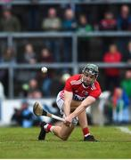 19 May 2019; Mark Coleman of Cork takes a sideline ball during the Munster GAA Hurling Senior Championship Round 2 match between Limerick and Cork at the LIT Gaelic Grounds in Limerick. Photo by Diarmuid Greene/Sportsfile