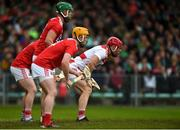 19 May 2019; Cork goalkeeper Anthony Nash faces a free alongside his defenders during the Munster GAA Hurling Senior Championship Round 2 match between Limerick and Cork at the LIT Gaelic Grounds in Limerick. Photo by Diarmuid Greene/Sportsfile