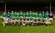 19 May 2019; The Limerick squad prior to the Munster GAA Hurling Senior Championship Round 2 match between Limerick and Cork at the LIT Gaelic Grounds in Limerick. Photo by Diarmuid Greene/Sportsfile