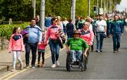 19 May 2019; Supporters outside the LIT Gaelic Grounds prior to the Munster GAA Hurling Senior Championship Round 2 match between Limerick and Cork at the LIT Gaelic Grounds in Limerick. Photo by Diarmuid Greene/Sportsfile