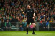 19 May 2019; Referee Paud O'Dwyer during the Munster GAA Hurling Senior Championship Round 2 match between Limerick and Cork at the LIT Gaelic Grounds in Limerick. Photo by Diarmuid Greene/Sportsfile