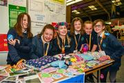 20 May 2019; Stratford Lodge School pupils from Baltinglass, Wicklow Pictured from left Layah Walsh, Maria Landon, Eva Glennon, Laiah Fox, Molly Sheridan and Isabel O'Reilly pictured at the JEP National Showcase Day which took place in RDS Simmonscourt, Ballsbridge, Dublin. Photo by Ray McManus/Sportsfile