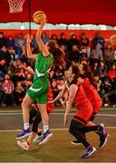 18 May 2019; Ciara Bracken of Liffey Celtics Basketball Club in action during the Womens Final between Liffey Celtics and  Fr Mathews Basketball Club at the second annual Hula Hoops 3x3 Basketball Championships at Bray Seafront in Co.Wicklow. Photo by Ray McManus/Sportsfile