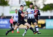 20 May 2019; Patrick Hoban of Dundalk in action against James Finnerty of Bohemians during the SSE Airtricity League Premier Division match between Dundalk and Bohemians at Oriel Park in Dundalk, Louth. Photo by Ramsey Cardy/Sportsfile