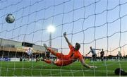 20 May 2019; Bohemians goalkeeper James Talbot fails to save a penalty by Patrick Hoban of Dundalk during the SSE Airtricity League Premier Division match between Dundalk and Bohemians at Oriel Park in Dundalk, Louth. Photo by Ramsey Cardy/Sportsfile