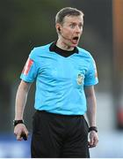 20 May 2019; Referee Derek Michael Tomney during the SSE Airtricity League Premier Division match between Dundalk and Bohemians at Oriel Park in Dundalk, Louth. Photo by Ramsey Cardy/Sportsfile