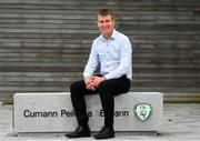 21 May 2019; Manager Stephen Kenny poses for a portrait following a Republic of Ireland Under 21 Squad Announcement at FAI Headquarters in Abbotstown, Dublin. Photo by Ramsey Cardy/Sportsfile