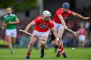 19 May 2019; Cork players Pat Horgan, left, and Conor Lehane both go for the ball during the Munster GAA Hurling Senior Championship Round 2 match between Limerick and Cork at the LIT Gaelic Grounds in Limerick. Photo by Piaras Ó Mídheach/Sportsfile