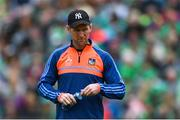19 May 2019; Tony Óg Regan, Limerick performance psychology coach, before the Munster GAA Hurling Senior Championship Round 2 match between Limerick and Cork at the LIT Gaelic Grounds in Limerick. Photo by Piaras Ó Mídheach/Sportsfile