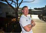 21 May 2019; Republic of Ireland goalkeeping coach Alan Kelly poses for a portrait following a media update at The Campus, Quinta do Lago in Faro, Portugal. Photo by Seb Daly/Sportsfile