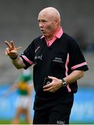 5 May 2019; Referee Gus Chapman during the Lidl Ladies National Football League Division 2 Final match between Kerry and Waterford at Parnell Park in Dublin. Photo by Brendan Moran/Sportsfile