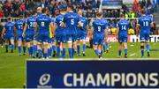 11 May 2019; The Leinster team after the Heineken Champions Cup Final match between Leinster and Saracens at St James' Park in Newcastle Upon Tyne, England. Photo by Brendan Moran/Sportsfile