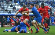 11 May 2019; Liam Williams of Saracens is tackled by Jack Conan of Leinster during the Heineken Champions Cup Final match between Leinster and Saracens at St James' Park in Newcastle Upon Tyne, England. Photo by Brendan Moran/Sportsfile