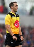 4 May 2019; Referee Andrew Brace during the Guinness PRO14 quarter-final match between Ulster and Connacht at Kingspan Stadium in Belfast. Photo by Brendan Moran/Sportsfile