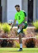 22 May 2019; Greg Cunningham during a Republic of Ireland training session at The Campus in Quinta do Lago, Faro, Portugal. Photo by Seb Daly/Sportsfile