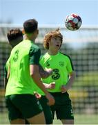 22 May 2019; Luca Connell during a Republic of Ireland training session at The Campus in Quinta do Lago, Faro, Portugal. Photo by Seb Daly/Sportsfile