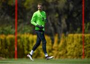 22 May 2019; Mark Travers during a Republic of Ireland training session at The Campus in Quinta do Lago, Faro, Portugal. Photo by Seb Daly/Sportsfile