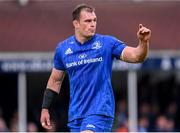 18 May 2019; Rhys Ruddock of Leinster during the Guinness PRO14 semi-final match between Leinster and Munster at the RDS Arena in Dublin. Photo by Harry Murphy/Sportsfile