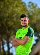 23 May 2019; John Egan poses for a portrait following a Republic of Ireland press conference at The Campus in Quinta do Lago, Faro, Portugal. Photo by Seb Daly/Sportsfile